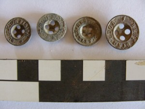 Uniform buttons from the Sabi Bridge site