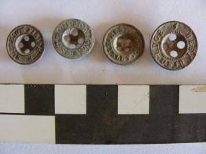 Uniform buttons from the Sabi Bridge site